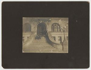 Primary view of object titled '[Photograph of Vanderbilt University Hospital and Clinic]'.