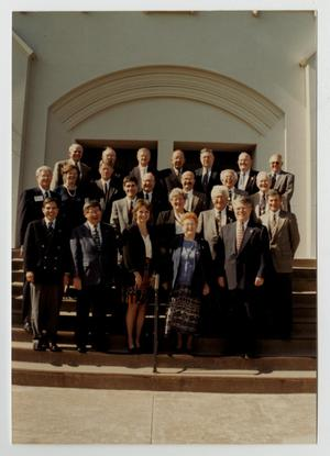 Primary view of object titled '[Photograph of the McMurry College Board of Trustees, 1996-1997]'.