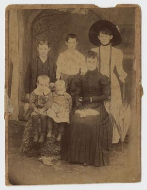 Primary view of object titled '[Portrait of the Holbert Family]'.
