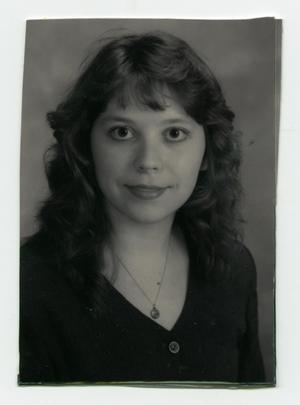 Primary view of object titled '[Portrait of Charlene Rogers-McMahon]'.