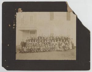 Primary view of object titled '[Photograph of School Students]'.