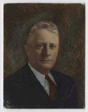Primary view of object titled '[Painting of Joe Lett Ward, Sr.]'.