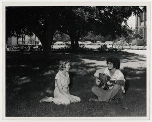 Primary view of object titled '[Photograph of McMurry College Students]'.