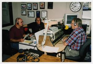 "Primary view of object titled '[Photograph of ""The Professors"" Radio Show]'."