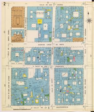 Primary view of object titled 'Mexico City 1905 Sheet 2'.