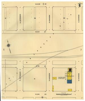 Primary view of object titled 'Amarillo 1921 Sheet 6'.