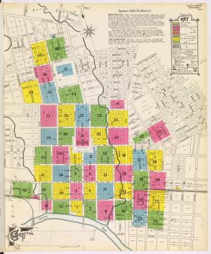 Primary view of object titled 'Austin 1900 Key Map'.