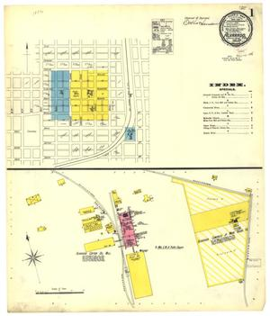 Primary view of object titled 'Alvarado 1896 Sheet 1'.