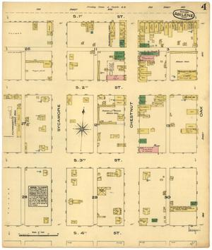 Primary view of object titled 'Abilene 1885 Sheet 3'.