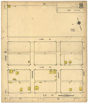 Primary view of object titled 'Austin 1921 Sheet 50 (New Sheet)'.