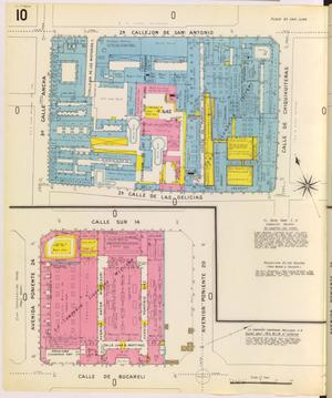 Primary view of object titled 'Mexico City 1905 Sheet 10'.