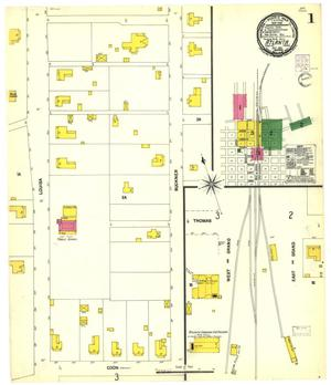 Primary view of object titled 'Atlanta 1901 Sheet 1'.