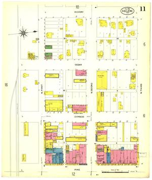 Primary view of object titled 'Abilene 1908 Sheet 11'.