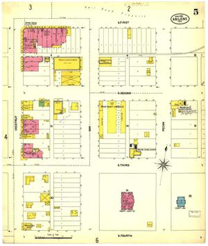 Primary view of object titled 'Abilene 1902 Sheet 5'.