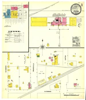 Primary view of object titled 'Athens 1901 Sheet 1'.