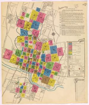Primary view of object titled 'Austin 1900 New Key Map'.