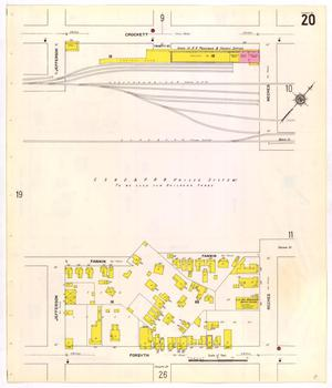 Primary view of object titled 'Beaumont 1911 Sheet 20'.