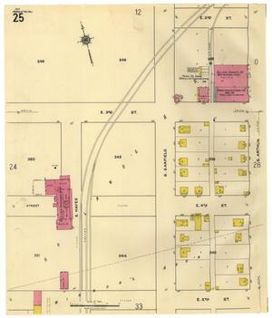 Primary view of object titled 'Amarillo 1921 Sheet 25'.