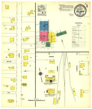 Primary view of object titled 'Atlanta 1911 Sheet 1'.