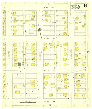 Primary view of object titled 'Amarillo 1913 Sheet 14'.