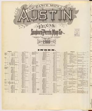 Primary view of object titled 'Austin 1900 Title Page'.