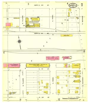 Primary view of object titled 'Amarillo 1913 Sheet 7'.