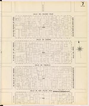 Primary view of object titled 'Mexico City 1905 Sheet 7 (Skeleton)'.