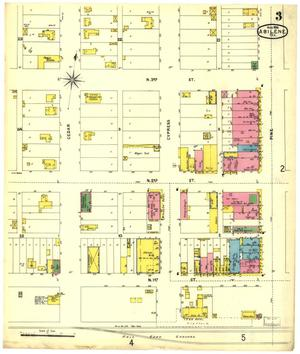 Primary view of object titled 'Abilene 1898 Sheet 3'.