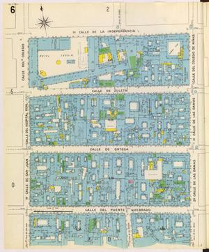 Primary view of object titled 'Mexico City 1905 Sheet 6'.