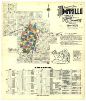 Primary view of object titled 'Amarillo 1913 Sheet 1'.
