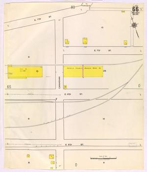 Primary view of object titled 'Austin 1921 Sheet 66 (Additional Sheet)'.