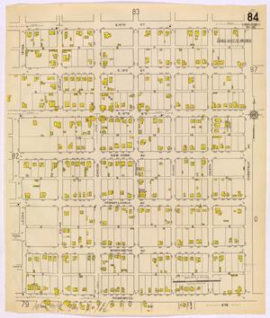 Primary view of object titled 'Austin 1921 Sheet 84 (Additional Sheet)'.