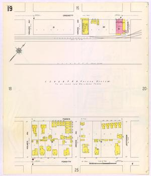 Primary view of object titled 'Beaumont 1911 Sheet 19'.