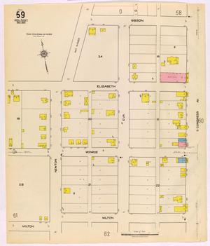 Primary view of object titled 'Austin 1921 Sheet 59 (Additional Sheet)'.