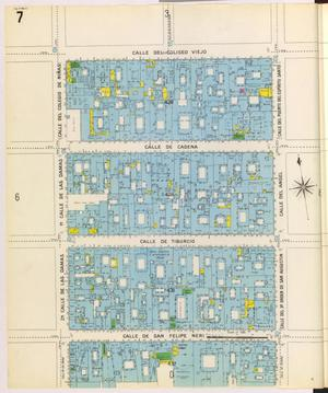 Primary view of object titled 'Mexico City 1905 Sheet 7'.