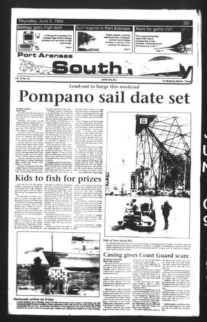 Primary view of object titled 'Port Aransas South Jetty (Port Aransas, Tex.), Vol. 24, No. 23, Ed. 1 Thursday, June 9, 1994'.
