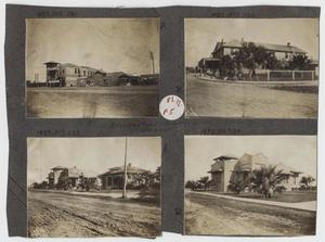 Primary view of object titled '[Scrapbook Page: Pharr, Texas Residential Section]'.