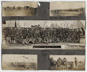 Primary view of object titled '[Scrapbook Page: Co. I 23rd Infantry]'.