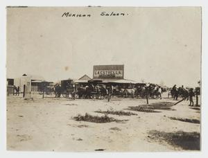 [Photograph of a Mexican Saloon]