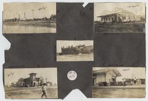 Primary view of object titled '[Scrapbook Page: Pharr, Texas Scenes]'.