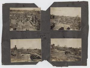 Primary view of object titled '[Scrapbook Page: Squad Trench]'.