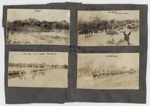 Primary view of object titled '[Scrapbook Page: Military Marches]'.