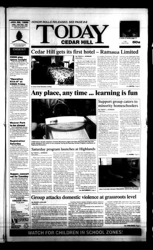 Primary view of object titled 'Today Cedar Hill (Duncanville, Tex.), Vol. 33, No. 45, Ed. 1 Thursday, January 28, 1999'.