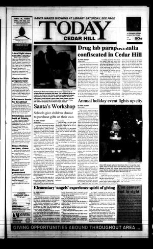 Primary view of object titled 'Today Cedar Hill (Duncanville, Tex.), Vol. 34, No. 37, Ed. 1 Thursday, December 9, 1999'.