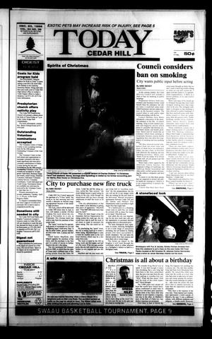 Primary view of object titled 'Today Cedar Hill (Duncanville, Tex.), Vol. 34, No. 39, Ed. 1 Thursday, December 23, 1999'.