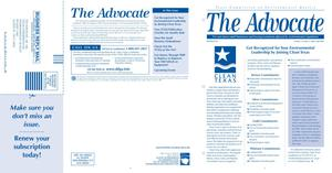 Primary view of object titled 'The Advocate, Volume 12, Issue 2, April-June 2007'.