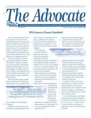 Primary view of object titled 'The Advocate, Volume 13, Issue 3, July-September 2008'.