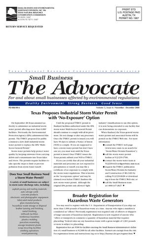 Primary view of object titled 'The Advocate, Volume 5, Issue 6, November-December 2000'.