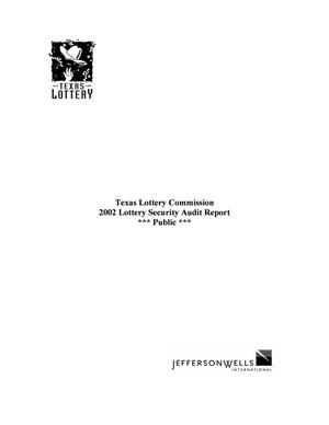 Primary view of object titled '2002 Lottery Security Audit Report'.