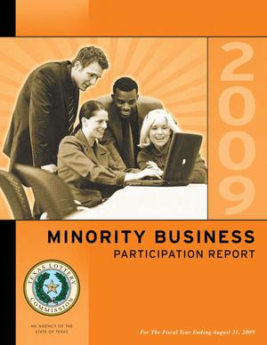 Primary view of object titled 'Texas Lottery Minority Business Participation Report: 2009'.